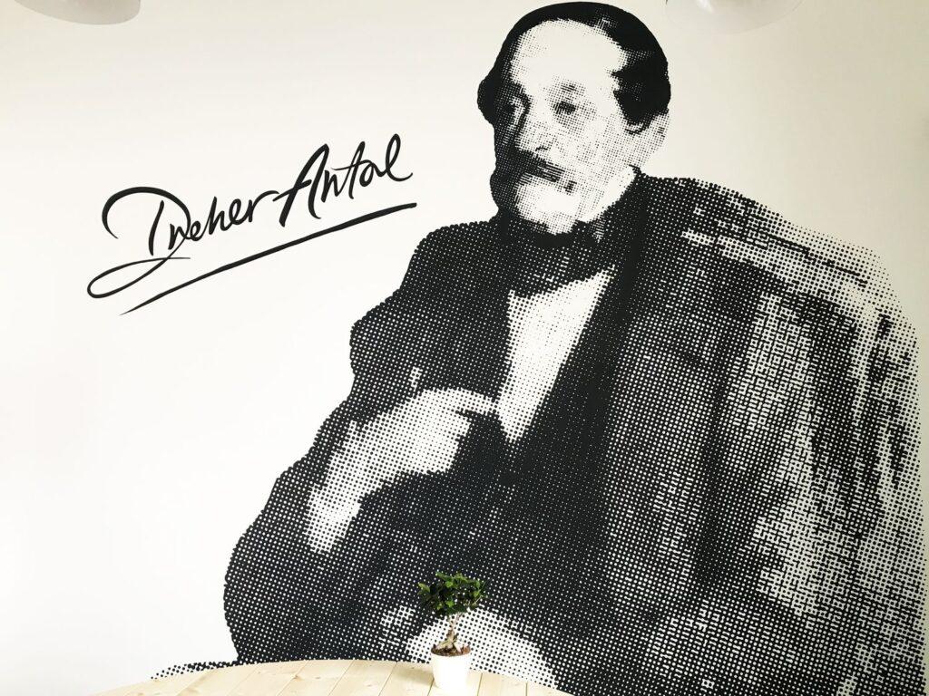 Dreher Iroda - HOEK art and murals. dekoráiós falfestés
